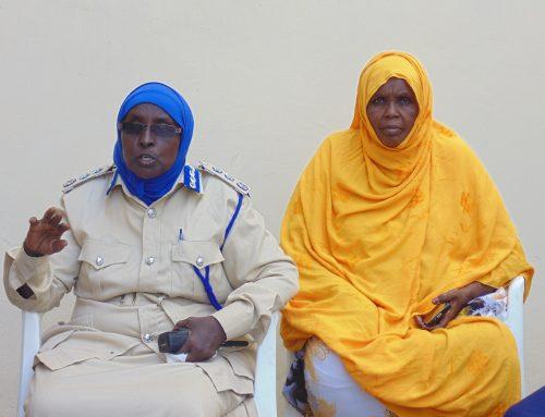 Training Women Police Desk
